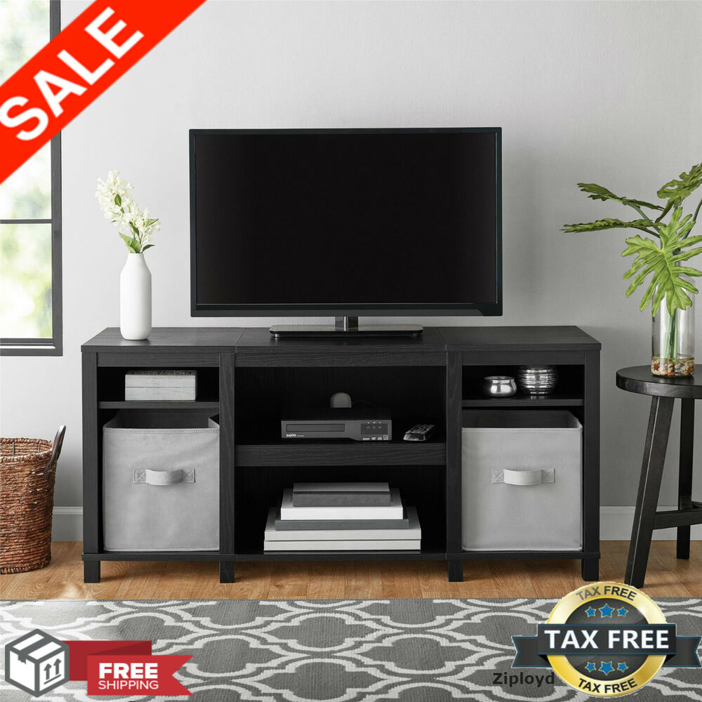 Tv Stand 50 Inch Flat Screen Entertainment Console Media Center Home