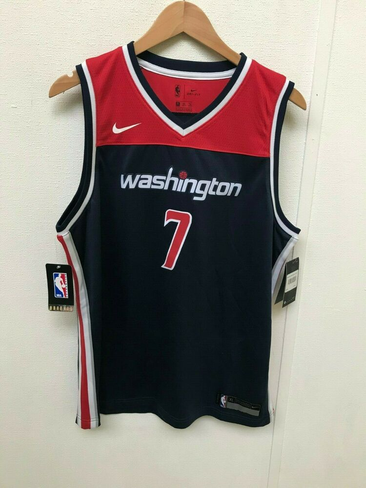 c8d2c7af4 Nike Kid s Washington Wizards NBA Swingman Jersey - 18-20 Years - Thiccy 7  - New