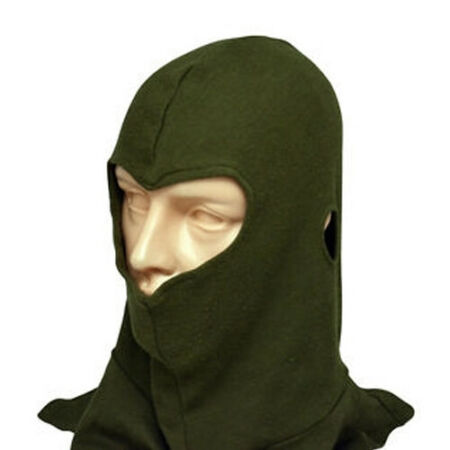 img-Genuine British Army Thermal Balaclava FR AFV Green Olive Tank Hood Face Mask
