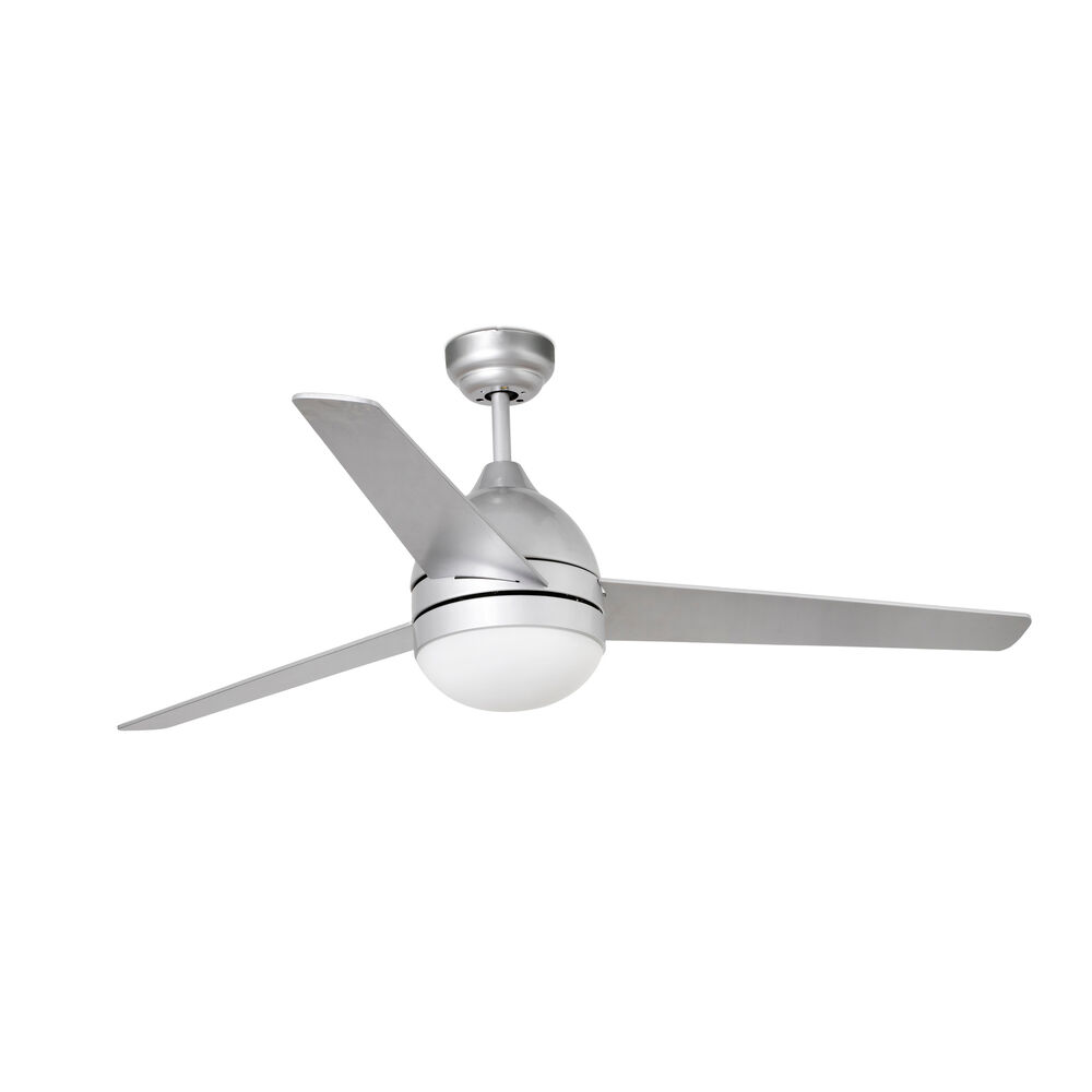 Details About Indoor Ceiling Fan With Light And Remote Control Faro Tabarca Grey 132 Cm 52