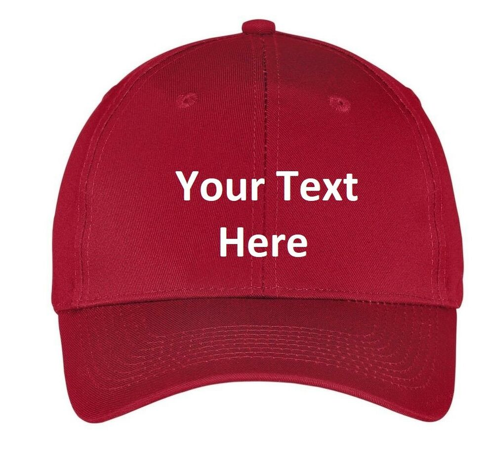 7d87dc4dbd7 Details about Baseball cap hat Custom Embroidery (Personalized) Embroidered