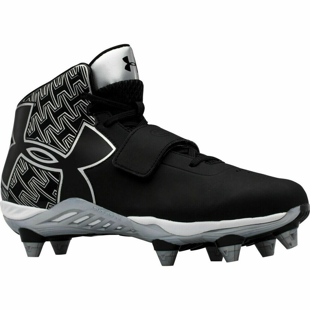 a51f2c3440d9 Details about New Under Armour Men s C1N Mid Football Cleats Size Cam Newton