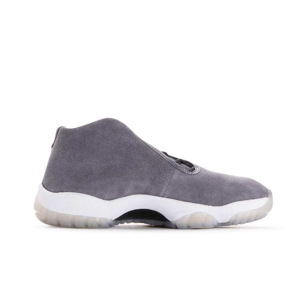 timeless design e6ac0 6446a Details about Mens NIKE AIR JORDAN FUTURE Grey Trainers AT0056 002