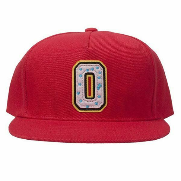 Details about NWT AUTHENTIC ODD FUTURE OFWGKTA  OF COLLEGIATE 2 DONUT   MEN S SNAPBACK HAT RED 7a93d514a09