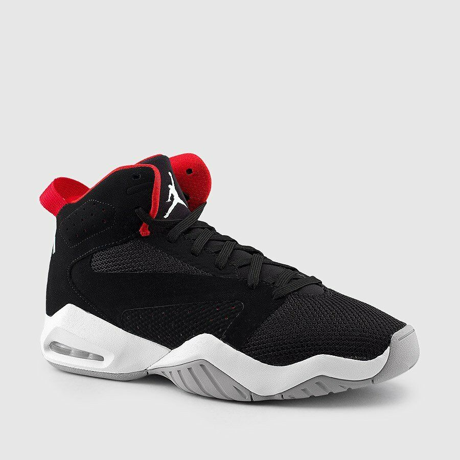 best sneakers 044e4 f5cdd Details about Nike Air Jordan Lift Off Black Red Bred Retro 6 Basketball  2018 Mens Size 10