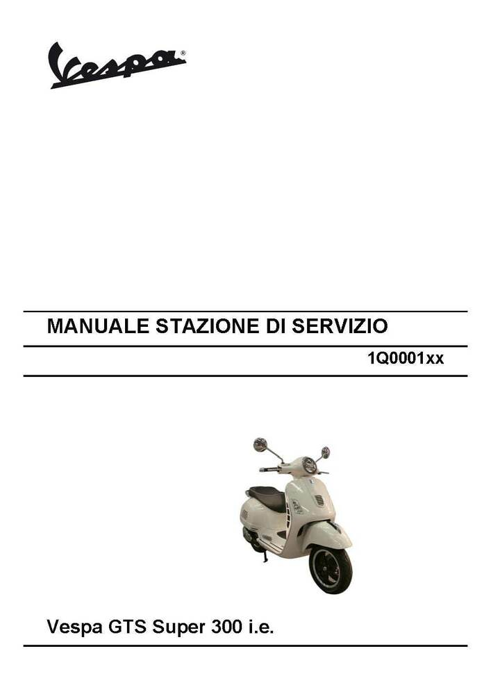 0f05ec89b4b ... Array - piaggio vespa service shop manual 2015 vespa gts super 300 i e  ebay rh ebay ...