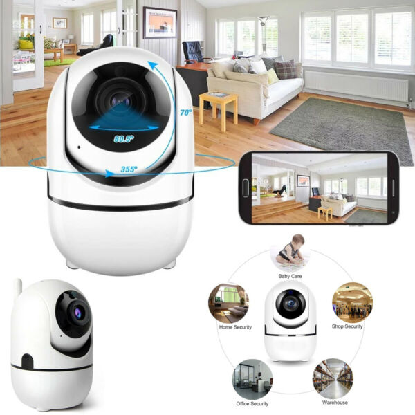 PDR*TELECAMERA IP CAM CAMERA HD 720P WIRELESS LED IR TF MOTORIZZATA WIFI  V380