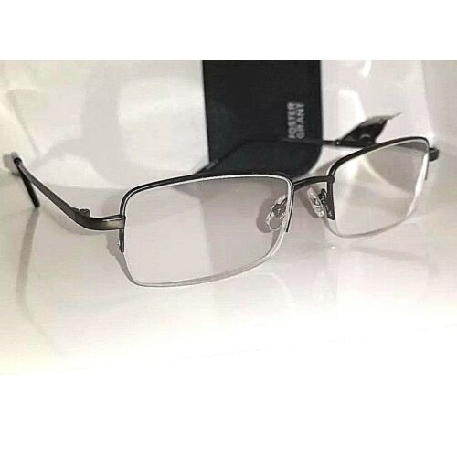 250-premium-foster-grant-titanium-semi-rimless-reading-glasses-t22-msrp28