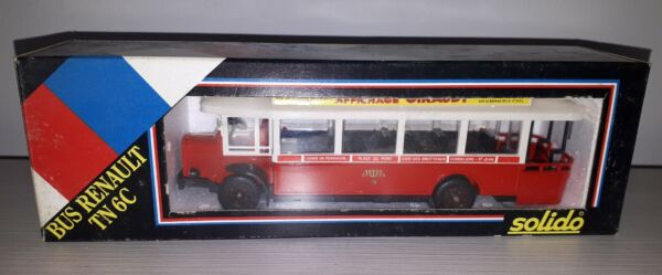 BUS RENAULT TN 6C 1934 SCALA 1:50 SOLIDO