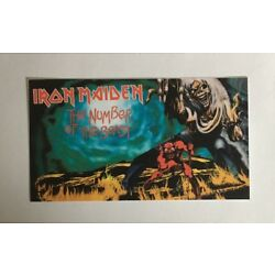 Iron Maiden Sticker - Number Of The Beast
