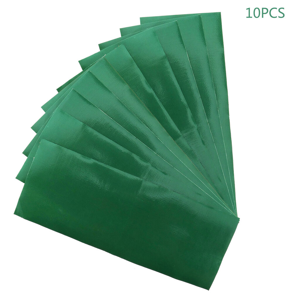 2x Green Waterproof Adhesive Patch Repair Tape Canvas Tent ...