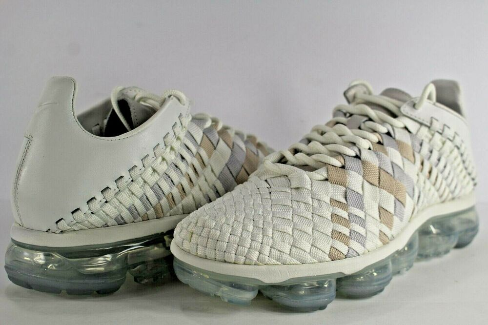 0f8928501eb Details about Nike Air VaporMax Inneva Summit White Size 9.5 AO2447-100