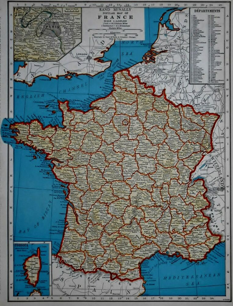 Map Of France Belgium And Luxembourg.Vintage 1941 Atlas Map World War Wwii Era France Belgium
