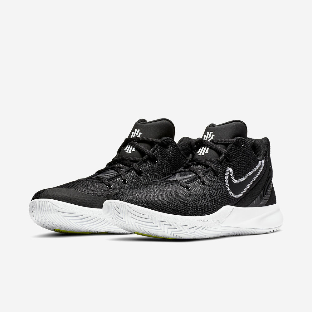 100% authentic 16fdf 9108e Details about Nike Kyrie Flytrap 2 Black White II Kyrie Irving Basketball  2019 All NEW