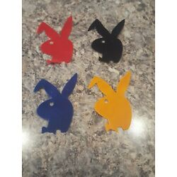 PLAYBOY BUNNY HEAT TRANSFER DECALS CHOOSE FROM 4 DIFFERANT  COLORS LG.3''