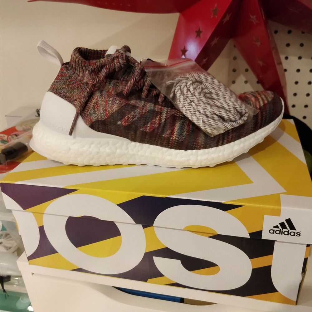 e0963bf13ac Details about KITH x Adidas Ultra Boost Mid Men s 7.5 Aspen Ronnie Fieg  BY2592 Multicolor