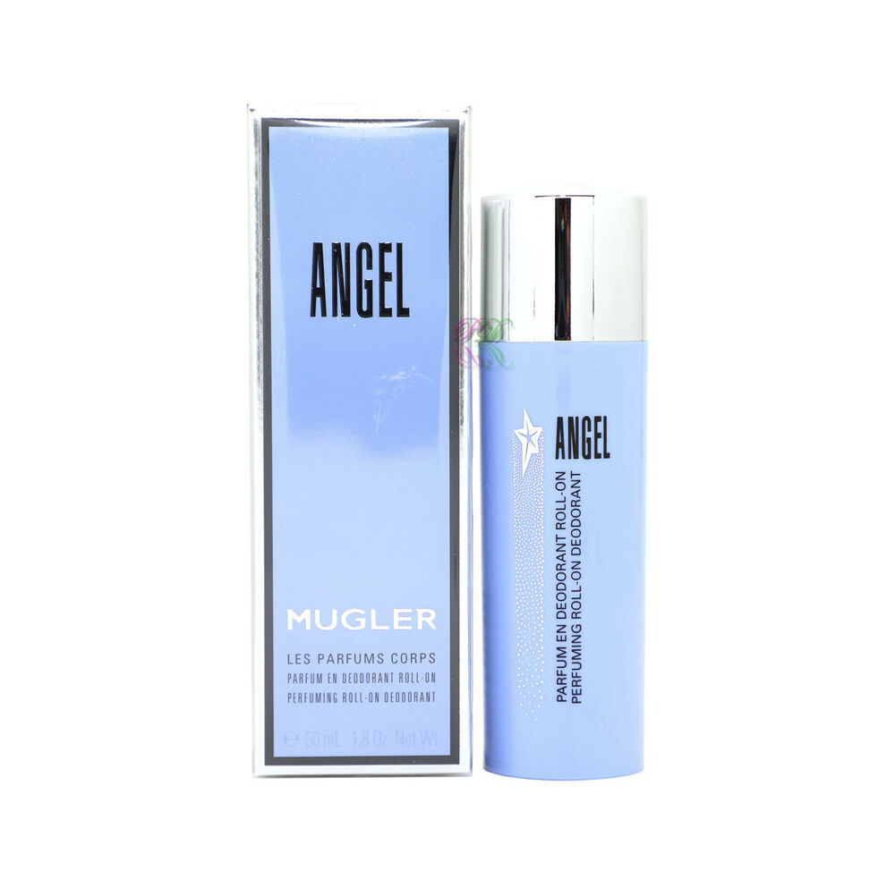 284dc940d8d1 Thierry Mugler Angel Perfuming Roll on Deodorant 50ml Women Boxed New  3439600430011