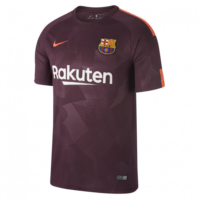 20aa8f8cf9c Details about Barcelona 2017-18 third strip by Nike - boys S (128 - 137cm)