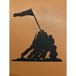 10 Military Iwo Jima Silhouette Die Cuts,Scrapbook,cards,party, toppers,Confetti