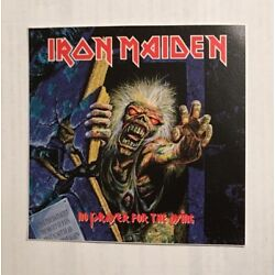 Iron Maiden Sticker - No Prayer For The Dying