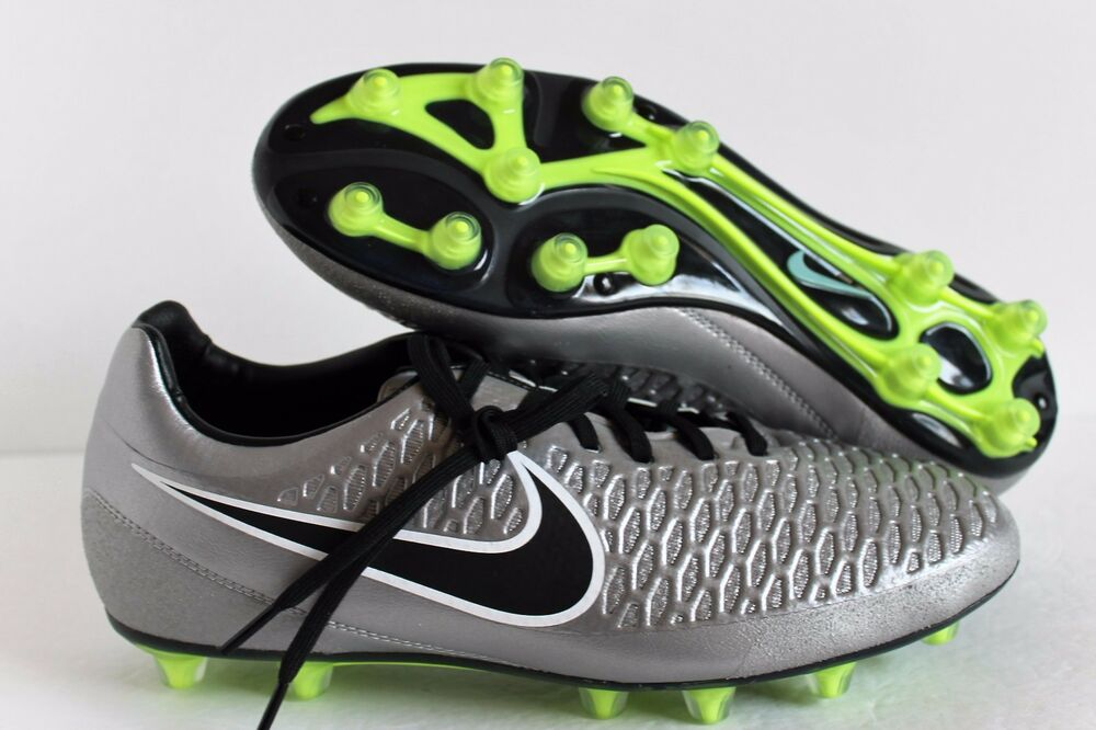 5c71c5c62 Details about Nike Magista Opus HG-E Soccer Cleats Football Shoes  649231-010 metallic silver 9