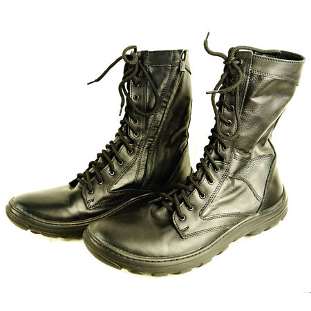 img-Russian Army Military Summer Hot Weather Leather Boots