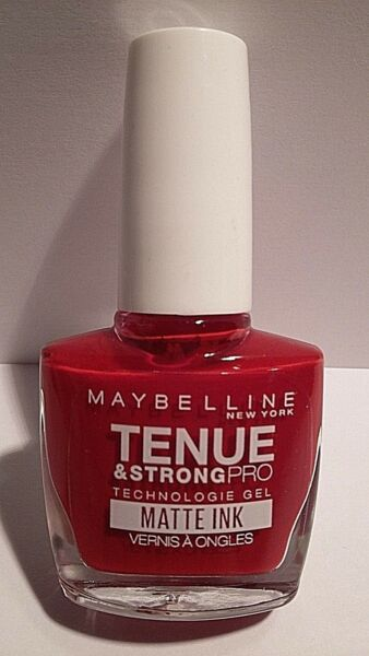 Vernis à Ongles Tenue Et Strong Pro Matte Ink 893 Pioneer Gemey Maybelline New