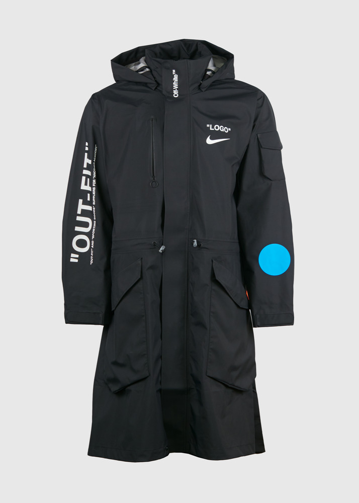 274d3afb35d5 Details about Nike Nikelab Off White Parka jacket XL Mercurial Football Mon  Amour Virgil Abloh