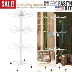 Kyпить Rotating Jewelry Stand Display Organizer Necklace Ring Earring Holder Show Rack на еВаy.соm