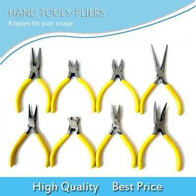 NEW 8 Typies Electrical Wire Cable Cutter Cutting Plier Side Snips Flush Pliers-