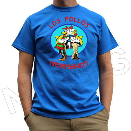 Los Pollos Hermanos Breaking Bad Inspired Mens Ladies T-Shirts Vests S-XXL Size
