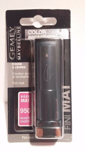 Rouge à Lèvres Color Sensational Mat 950 Magnetic Magenta Gemey Maybelline New
