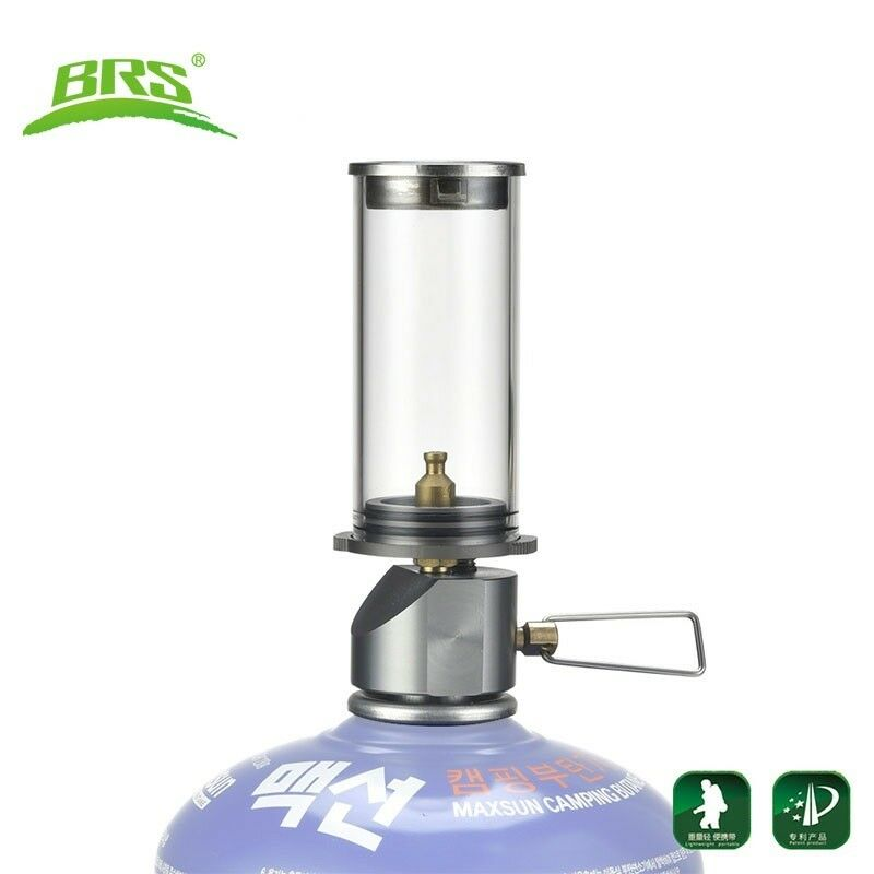 Mini Candle Stove: Portable Candle Lamp Gas Camping Lantern Mini Butane