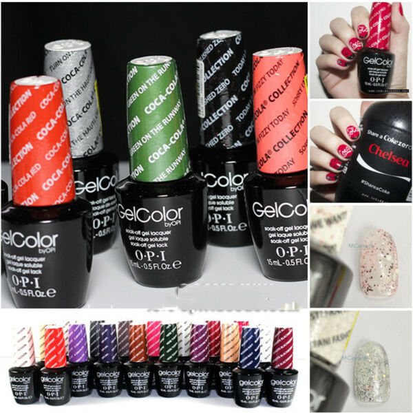 15ml OPI Gelcolor  - Vernis à Ongles Gel UV Polish Nail Art Soak off Gel Couleur