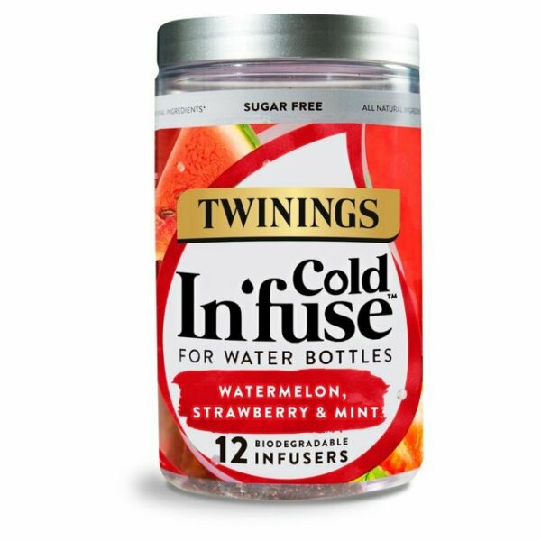 Twinings Watermelon Strawberry & Mint Cold Infuse 12's