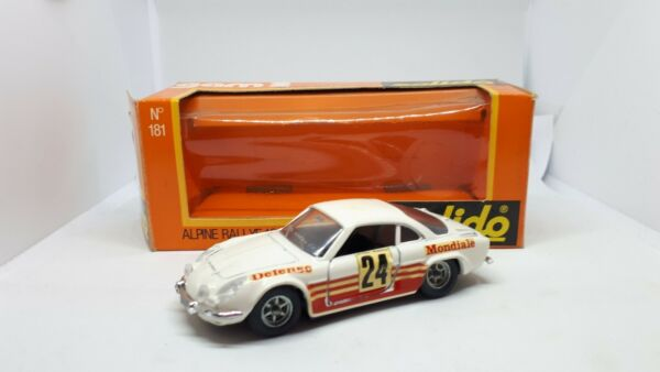 ALPINE RALLY 1600 N.181 SOLIDO SCALA 1:43