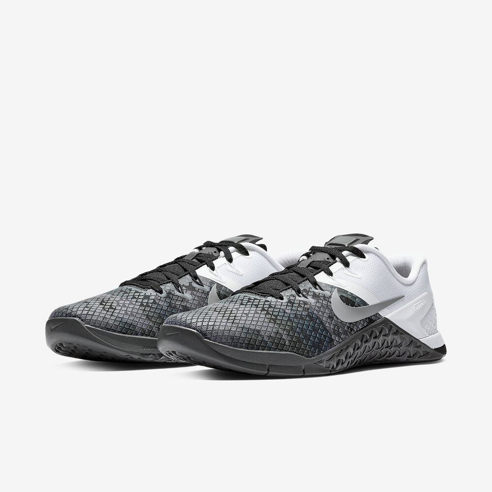 d7cc7ed2d43b Details about Nike Metcon 4 XD Black/White Grey Oreo Cross Training 4 Men's  2019 All NEW