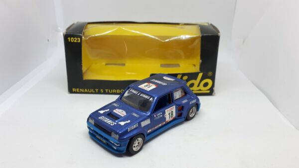 RENAULT 5 TURBO N.1023 SOLIDO SCALA 1:43