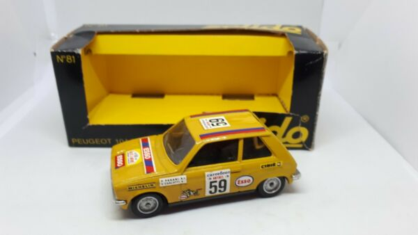 PEUGEOT 104 ZS N.81 SCALA 1:43 SOLIDO