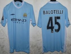 4d8c22bab Maglia jersey shirt maillot calcio football manchester city balotelli sz. L