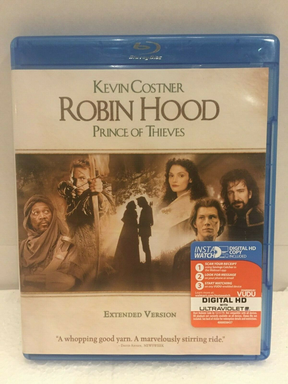 UPC 883929549498 - Robin Hood: Prince Of Thieves Extended Cut (Blu