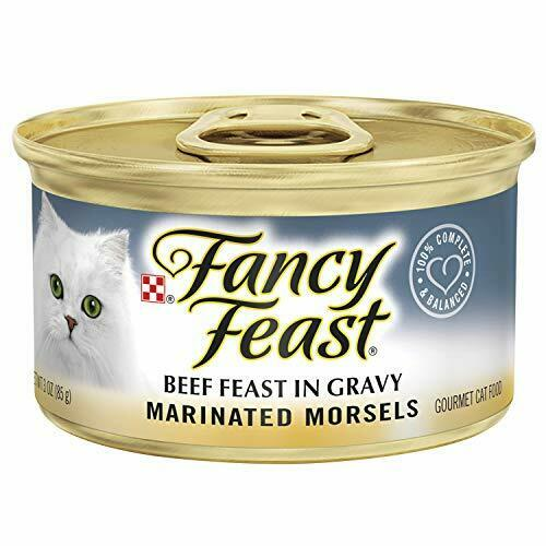 Purina Fancy Feast Marinated Morsels Beef Feast In Gravy Wet Cat Food - 3-ounce