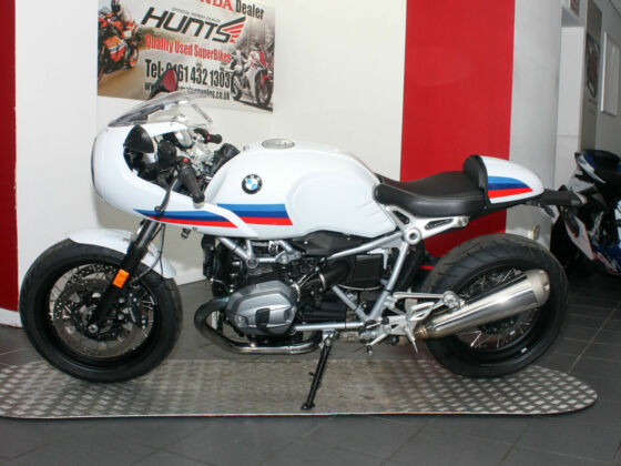2017 '17 BMW R NineT Racer S. 1 Owner. ABS. Heated Grips. 3,844 MILES. £7,395