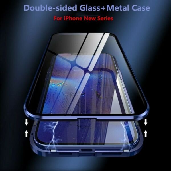 360° Magnetic Adsorption Hybrid Case Cover For iPhone 11 Pro Max XR X 8 7 Plus
