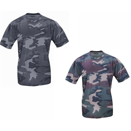 img-T-Shirt Camouflage Outdoor Pattern Tactical Military Army Camo Shirt Quikdry
