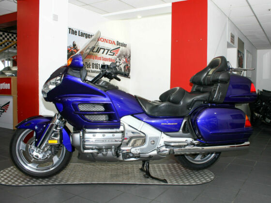 Just In From the USA! - 2002 '52 Honda GL1800 Goldwing. Please See Pics. £7,995