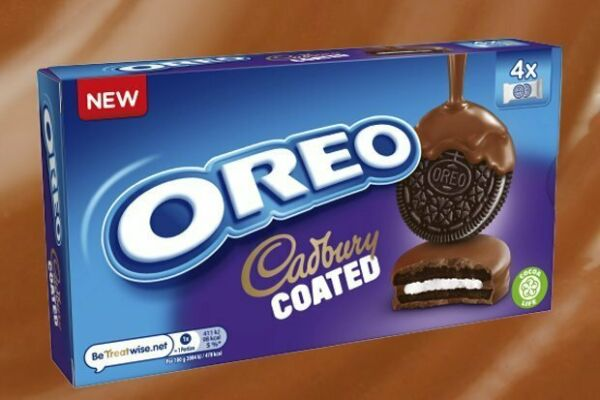 Oreo Cadbury Chocolate Coated Biscuits 164g