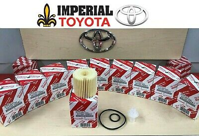 TOYOTA GENUINE OEM OIL FILTER QUANTITY PACK OF 10 PART# 04152YZZA1 04152-YZZA1