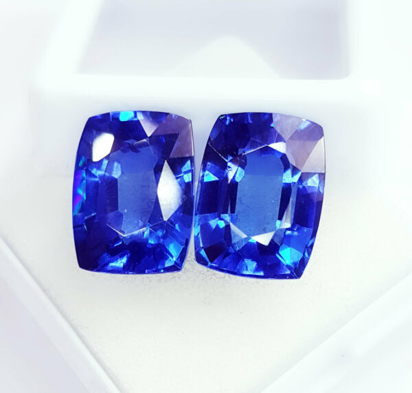 Natural Blue Sapphire Loose Gemstone 8 to 10 cts 2 Certified Pairs Best Offer