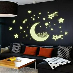 Wall Sticker Glow In The Dark Home Decor Decals Kids Baby Gift House Luminous